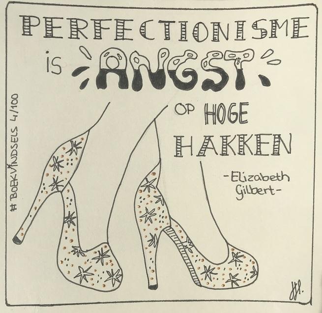 big magic elizabeth gilbert boekvindsel perfectionisme