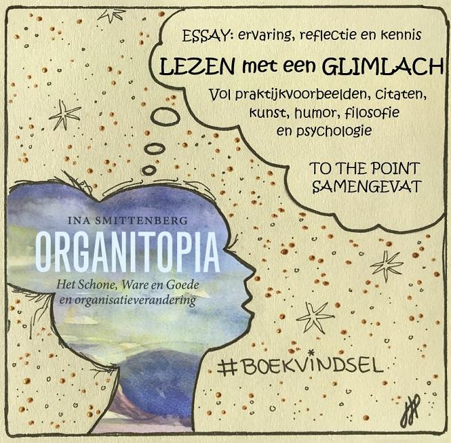 organitopia ina smittenberg boekvindsel organisatie verandering