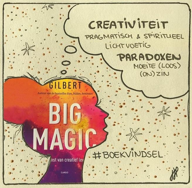 big magic elizabeth gilbert boekvindsel creativiteit